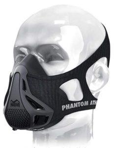 Die Phantom Athletics Trainingsmaske trainiert die Atemmuskulatur